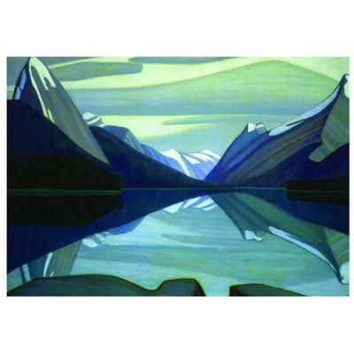 Puzzle  Eurographics-6000-0136 Maligne Lake, Jasper Park, 1924