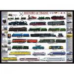 Puzzle  Eurographics-6000-0251 Geschichte der Eisenbahn