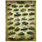 Puzzle  Eurographics-6000-0388 Panzer des zweiten Weltkrieges