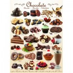 Puzzle  Eurographics-6000-0411 Sweet Line - Chocolate