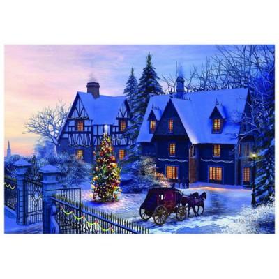 Puzzle  Eurographics-6000-0428 Dominic Davison: Zuhause an Weihnachten