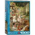 Puzzle  Eurographics-6000-0440 Bob Byerley - The Barnstormers