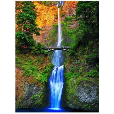 Puzzle  Eurographics-6000-0546 Multnomah Wasserfall - Oregon