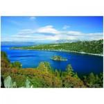 Puzzle  Eurographics-6000-0549 See Tahoe -  Smaragde Bucht  Kalifornien