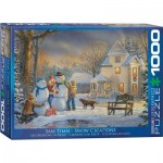 Puzzle  Eurographics-6000-0607 Sam Timm - Snow Creations