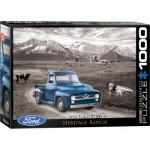 Puzzle  Eurographics-6000-0668 1954 Ford F-100 Heritage Ranch