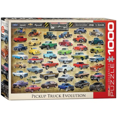 Puzzle Eurographics-6000-0681 Pick Up Evolution