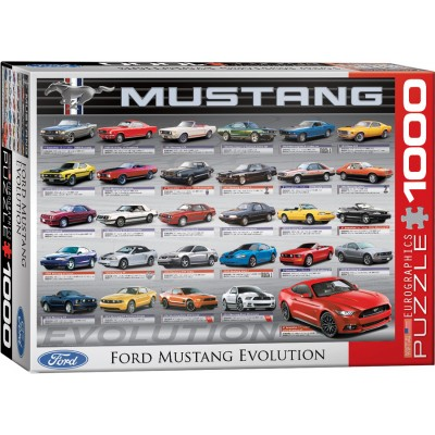 Puzzle  Eurographics-6000-0684 Ford Mustang Evolution