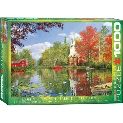 Puzzle  Eurographics-6000-0696 Dominic Davison - Lakeside Reflections