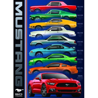 Puzzle  Eurographics-6000-0699 Ford Mustang 50th Anniversary
