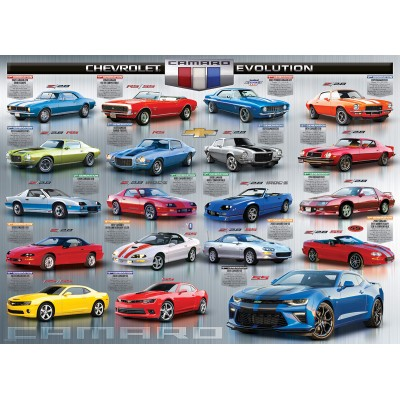 Puzzle  Eurographics-6000-0733 Chevrolet The Camaro Evolution