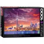 Puzzle  Eurographics-6000-0738 Toronto - Skyline