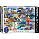 Puzzle  Eurographics-6000-0751 World Globetrotter