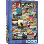 Puzzle  Eurographics-6000-0754 Travel USA Vintage Posters