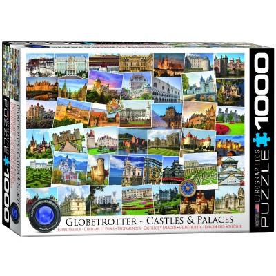 Puzzle  Eurographics-6000-0762 Globetrotter - Burgen und Schlösser