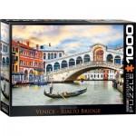 Puzzle  Eurographics-6000-0766 Rialto Brücke, Venedig