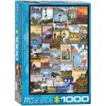 Puzzle  Eurographics-6000-0779 Leuchttürme