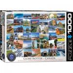 Puzzle  Eurographics-6000-0780 Globetrotter - Kanada