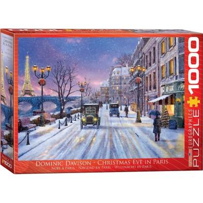 Puzzle  Eurographics-6000-0785 Dominic Davison: Weihnachten in Paris