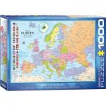 Puzzle  Eurographics-6000-0789 Karte von Europa