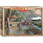 Puzzle  Eurographics-6000-0794 Kevin Daniel - Der Verlassene Hof