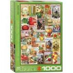 Puzzle  Eurographics-6000-0817 Gemüse Samen Katalog