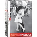 Puzzle  Eurographics-6000-0820 LIFE Magazine - Times Square - Kissing on V-J Day