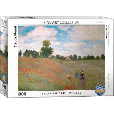 Puzzle  Eurographics-6000-0826 Claude Monet: Das Mohnfeld