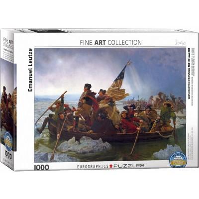 Puzzle  Eurographics-6000-0829 Emanuel Leutze - Washington Crossing the Delaware