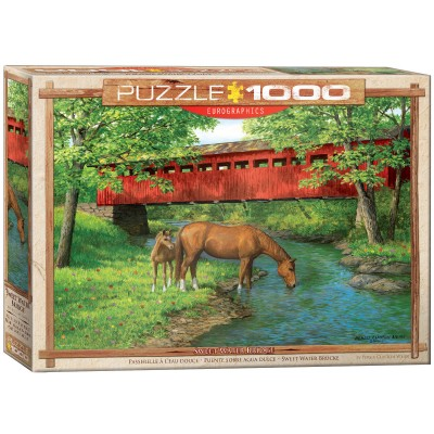 Puzzle  Eurographics-6000-0834 Sweet Water Bridge