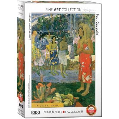 Puzzle  Eurographics-6000-0835 Paul Gauguin - La Orana Maria