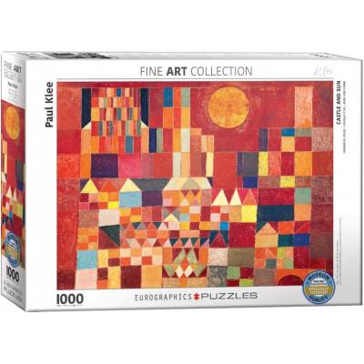 Puzzle  Eurographics-6000-0836 Paul Klee - Burg und Sonne