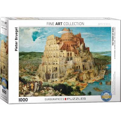 Puzzle  Eurographics-6000-0837 Pieter Bruegel - Der Turm zu Babel