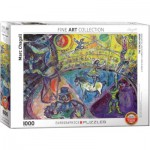 Puzzle  Eurographics-6000-0851 Marc Chagall - The Circus Horse