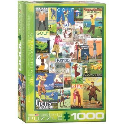 Puzzle  Eurographics-6000-0933 Golf Around the World