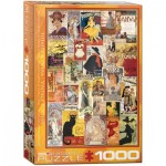 Puzzle  Eurographics-6000-0935 Theater und Oper Werbeposter
