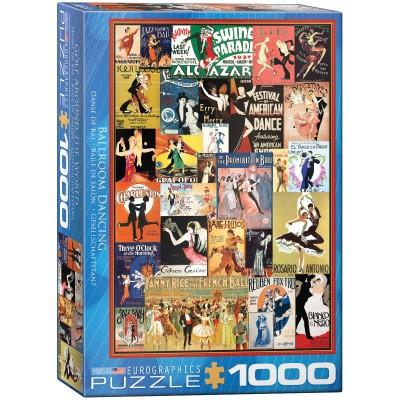 Puzzle  Eurographics-6000-0936 Ballroom Dancing