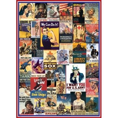Puzzle  Eurographics-6000-0937 World War I & II Vintage Posters
