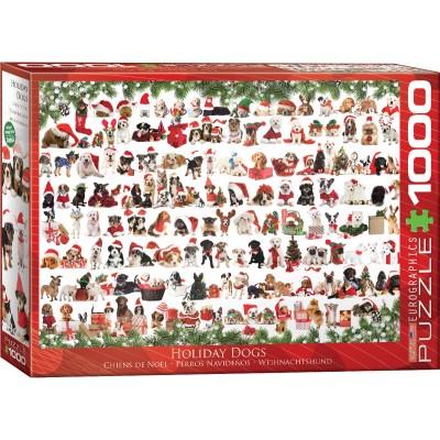Puzzle  Eurographics-6000-0939 Weihnachtshund