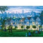 Puzzle  Eurographics-6000-0958 Eugene Lushpin - San Francisco, The Seven Sisters