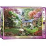 Puzzle  Eurographics-6000-0964 Dominic Davison - Blühender Garten