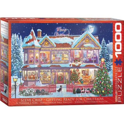 Puzzle  Eurographics-6000-0973 Steve Crisp - Getting Ready Christmas