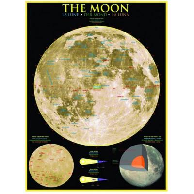 Puzzle  Eurographics-6000-1007 Der Mond