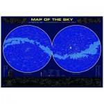 Puzzle  Eurographics-6000-1010 Himmelskarte