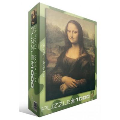 Puzzle  Eurographics-6000-1203 Leonard de Vinci: Mona Lisa