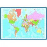 Puzzle  Eurographics-6000-1271 Weltkarte