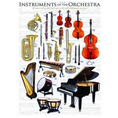 Puzzle  Eurographics-6000-1410 Musikinstrumente