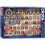 Puzzle  Eurographics-6000-1432 Presidents of the USA