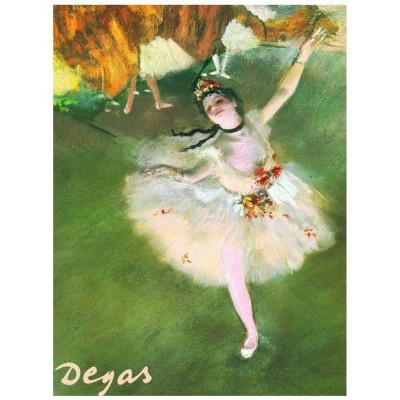 Puzzle  Eurographics-6000-2033 Edgar Degas: Der Stern