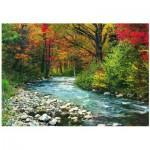 Puzzle  Eurographics-6000-2132 Wasserlauf im Wald